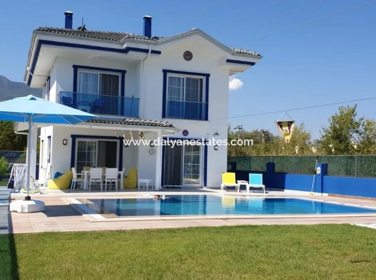 Villa Blum - Ultra Luxurious 3 Bedroom Private Villa In Gulpınar Area - Dalyan