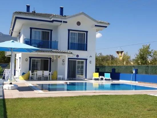 Ultra Luxurious 3 Bedroom Private Villa In Gulpınar Area - Dalyan