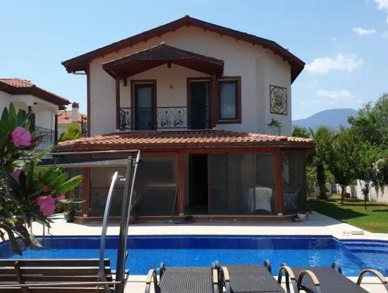 Four Bedroom Detached Villa With Private Pool In Metinler Area. - Dalyan